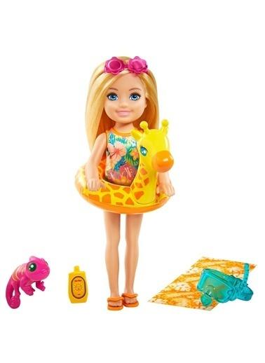 Barbie Grt80 Chelsea Ve Hayvanları Oyun Seti / Barbie-Chelsea Kayıp Doğum Günü Partisi Renkli